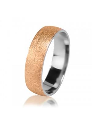 Мужское обручальное кольцо 750-2V014M