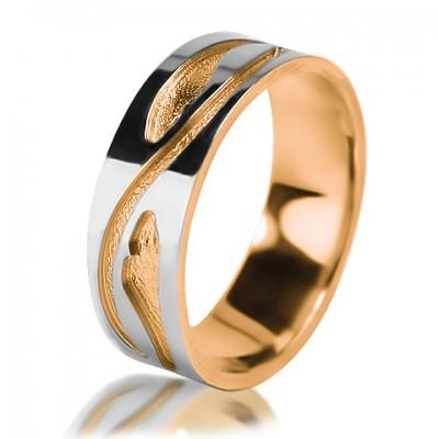 Женское обручальное кольцо 850-2V012