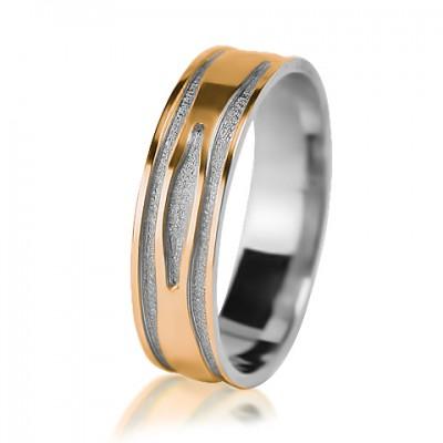 Мужское обручальное кольцо 850-2V013