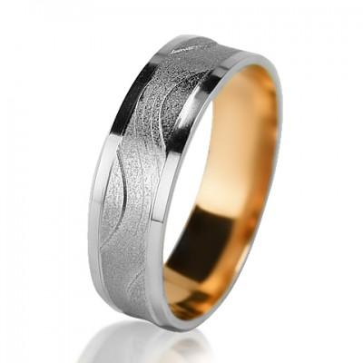 Мужское обручальное кольцо 850-2V015