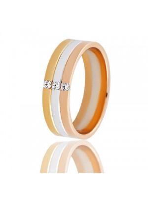 Золотое обручальное кольцо 951-2C060