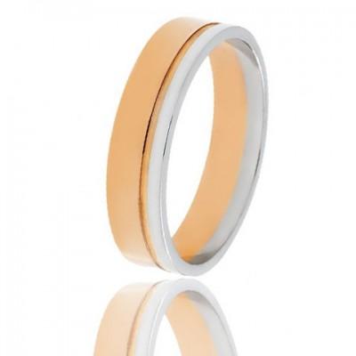 Золотое обручальное кольцо 950-2C061