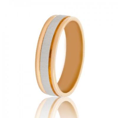 Золотое обручальное кольцо 950-2C059