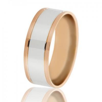 Золотое обручальное кольцо 950-2C053
