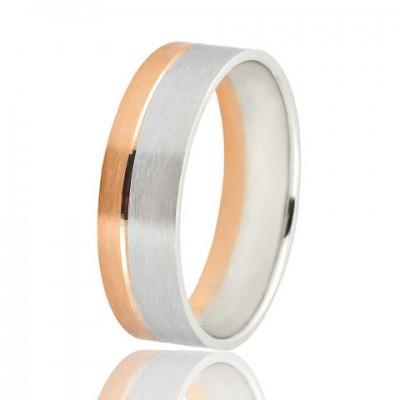 Золотое обручальное кольцо 950-2C052