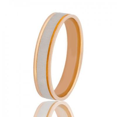 Золотое обручальное кольцо 950-2C051