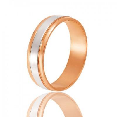 Золотое обручальное кольцо 950-2C050