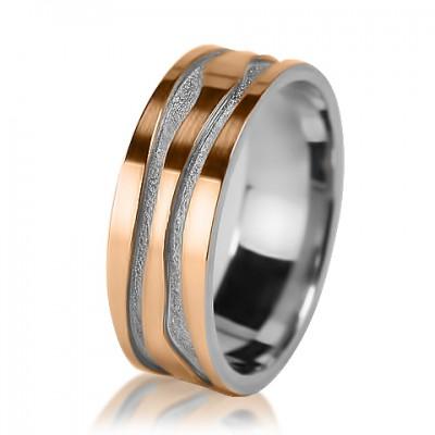 Женское обручальное кольцо 950-2V001
