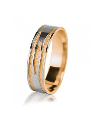 Мужское обручальное кольцо 950-2V013