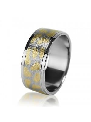 Мужское обручальное кольцо 950-2V022