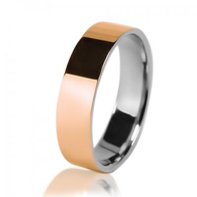 Мужское обручальное кольцо 950-2V028