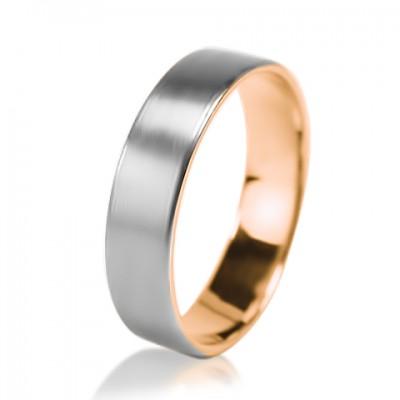 Мужское обручальное кольцо 950-2V029