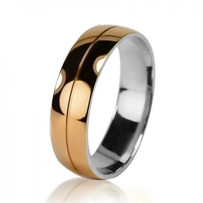Мужское обручальное кольцо 950-2V032