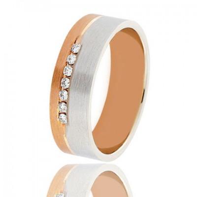 Золотое обручальное кольцо 951-2C062