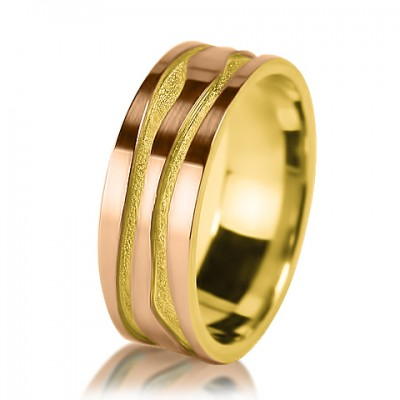 Женское обручальное кольцо 150-2V001