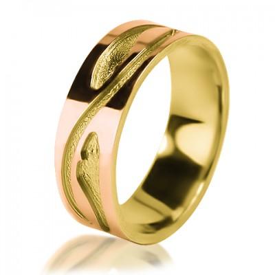 Женское обручальное кольцо 150-2V012