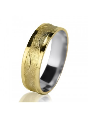 Women's wedding ring 750-2V015 ♀
