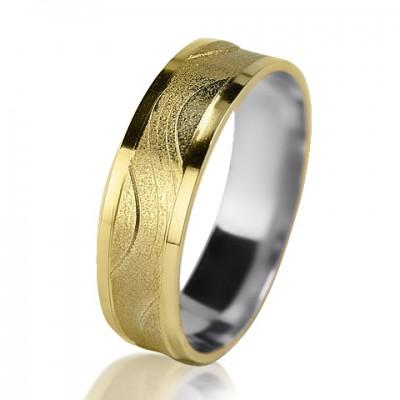 Женское обручальное кольцо 750-2V015 ♀