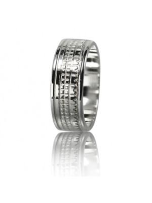 Мужское обручальное кольцо 550-2F011 ♂