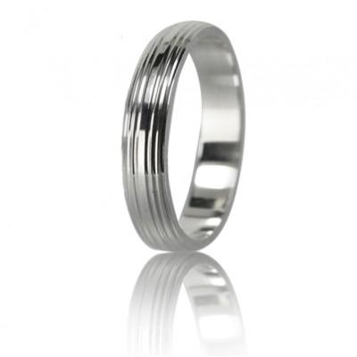 Мужское обручальное кольцо 550-2F016 ♂