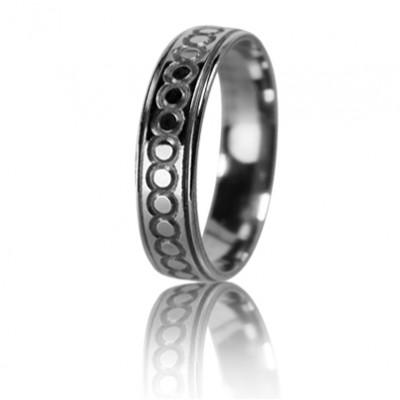 Женское обручальное кольцо 550-2L017 ♀