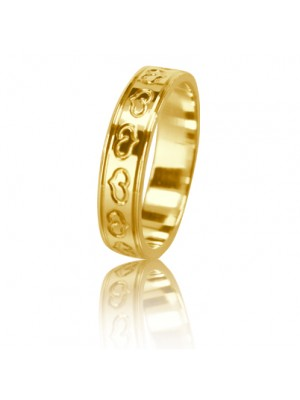 Women's wedding ring 350-2L001 ♀