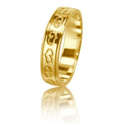 Женское обручальное кольцо 350-2L001 ♀