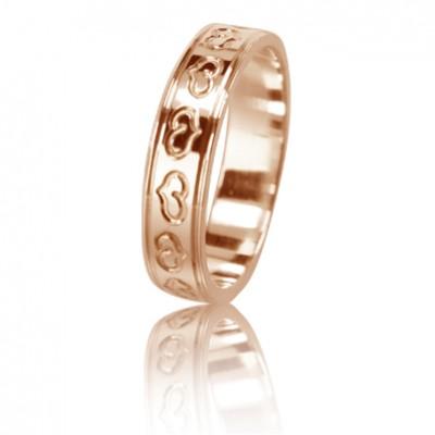 Женское обручальное кольцо 450-2L001 ♀