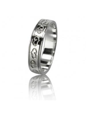 Женское обручальное кольцо 550-2L001 ♀
