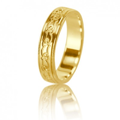 Женское обручальное кольцо 350-2L002 ♀