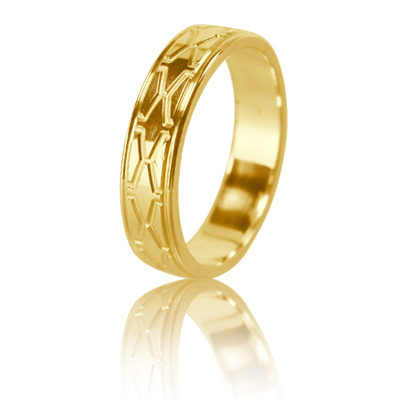 Женское обручальное кольцо 350-2L003 ♀