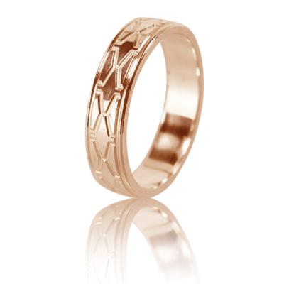 Женское обручальное кольцо 450-2L003 ♀