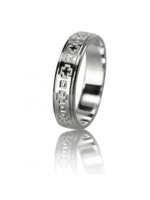 Женское обручальное кольцо 550-2L008 ♀