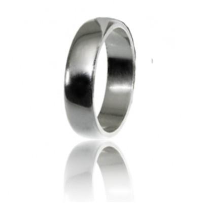 Мужское обручальное кольцо 550-2C001 ♂
