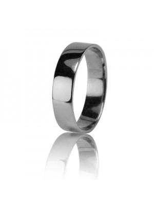 Свадебное кольцо из белого золота 550-2Z001 ♂