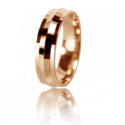 Женское обручальное кольцо 450-2D007 ♀