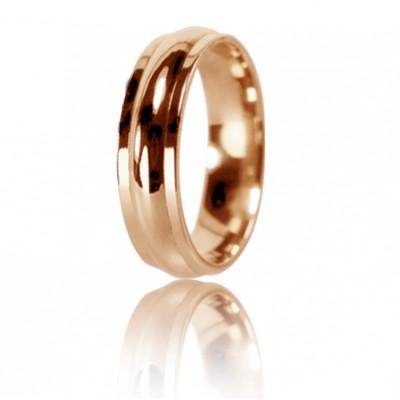Женское обручальное кольцо 450-2D008 ♀