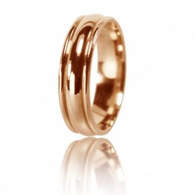 Женское обручальное кольцо 450-2D009 ♀