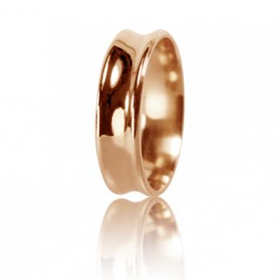 Женское обручальное кольцо 450-2D010 ♀