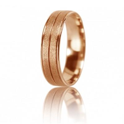 Женское обручальное кольцо 450-2D021 ♀