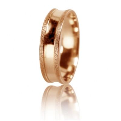 Женское обручальное кольцо 450-2D023 ♀