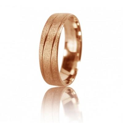 Женское обручальное кольцо 450-2D026 ♀