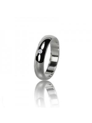 Women's wedding ring with diamond 551-2F015M ♀