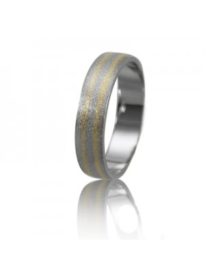 Men's wedding ring 950-2V021 ♂