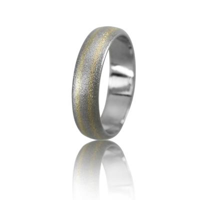 Мужское обручальное кольцо 950-2V021M ♂