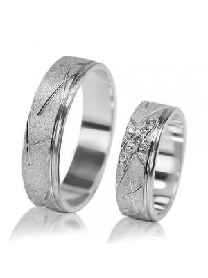Парные обручальные кольца F002