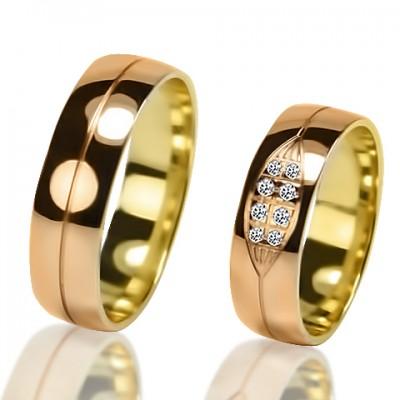 Обручальные кольца пара V032
