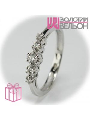 Золотое кольцо с бриллиантом 551-10153