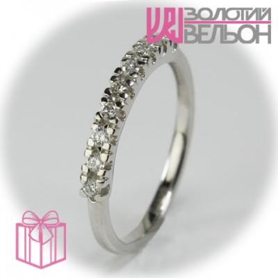 Золотое кольцо с бриллиантом 551-10157