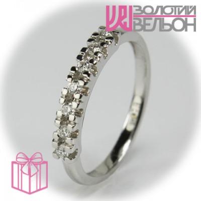 Золотое кольцо с бриллиантом 551-10273